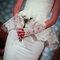 Biały bukiet ślubny. Źródło: Oscar de la Renta 2014