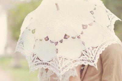 Sonnenschirme für die Hochzeit
