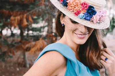 El canotier: guía de estilo y su uso como invitada de boda