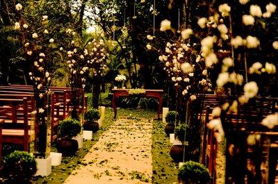 Seu casamento ao ar livre em São Paulo em um lugar lindo, especial e com beleza natural: Maison Saint Germain