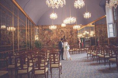 Eleganza e semplicità: un mix di successo per il matrimonio di Lalla e Filo