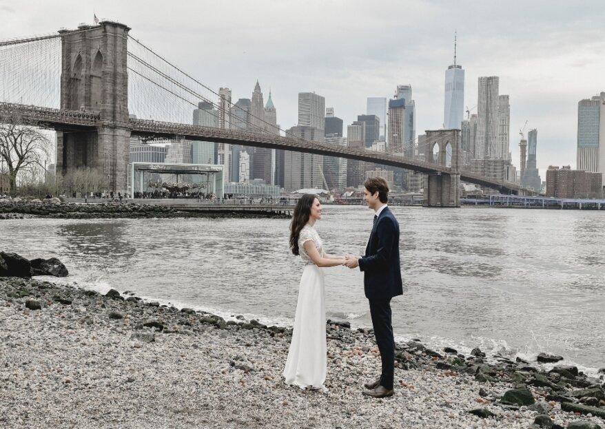 Oggi Sposi a New York: l'agenzia di wedding planning per tutti quegli italiani che sognano di sposarsi nella Grande Mela