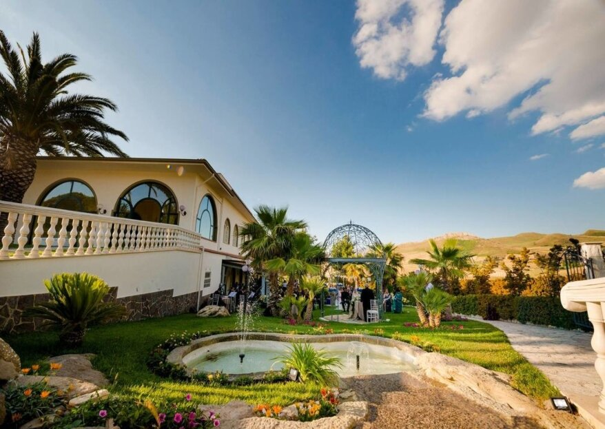 Il calore dell'accoglienza siciliana e l'esperienza decennale nel campo della ristorazione di Mountain Palace La Schera a servizio delle vostre nozze