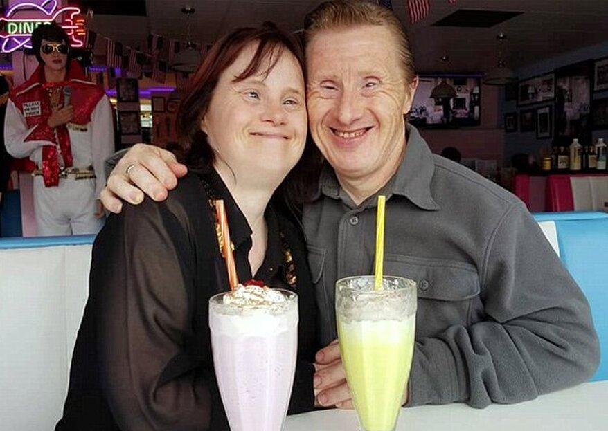 Ehepaar mit Down-Syndrom feiert seinen 24. Hochzeitstag