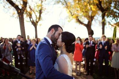 Un día inolvidable, único y lleno de sorpresas: la boda de Lucía y Nacho