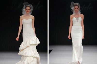 Vestidos de noiva estilo Hollywood - a coleção Badgley Mischka 2012