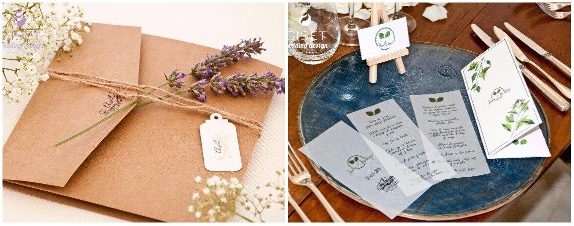 Giset Wedding: una boda especial con un diseño único