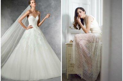 Qué prefieres para tu vestido de novia, ¿una gran firma o un atelier?