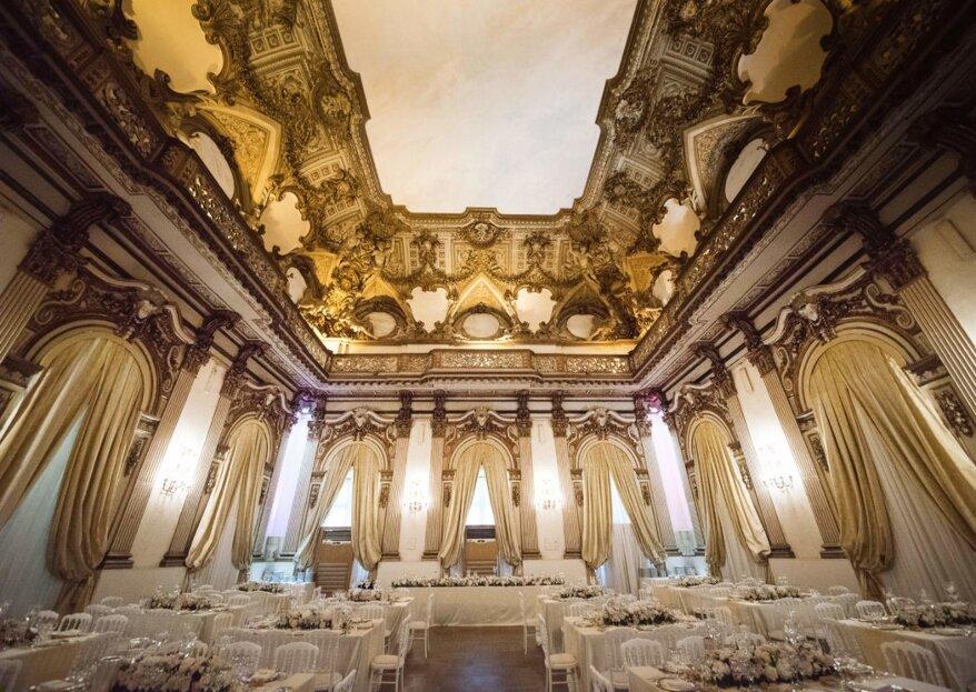 Sentirsi come dei vip: il tuo matrimonio esclusivo a Palazzo Brancaccio