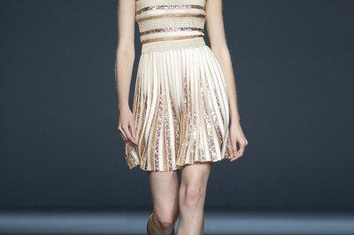 Fashion Week w Madrycie – suknie dla gości weselnych