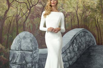 Justin Alexander Herfst/Winter 2017: unieke jurken met de laatste trends