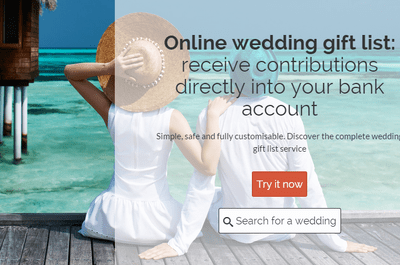 Wedding gift lists just got great with Zankyou, fun, easy and all in one place.