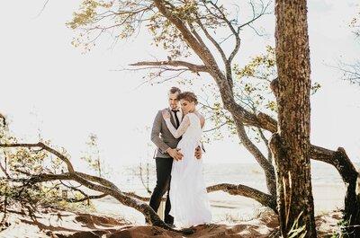 Солнце после бури: свадебная фотосессия Александра и Анны