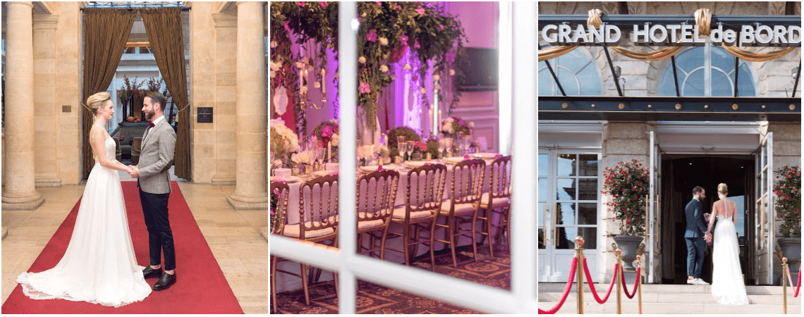 Un superbe mariage royal à l'Intercontinental Bordeaux-le Grand Hotel