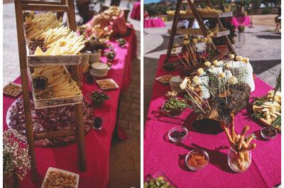 Puestos o foodtrucks: lo último para triunfar en el banquete de tu boda