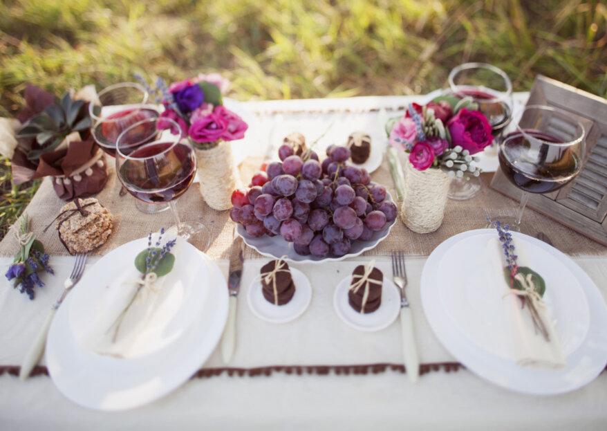 Cómo elegir el menú para mi matrimonio: ¡cautiva los sentidos de tus invitados!