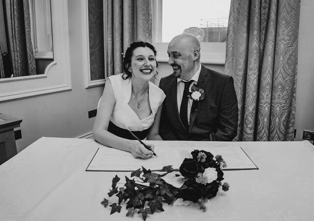 Lexi and Gary's Beautiful Winter Wedding in Huddersfield