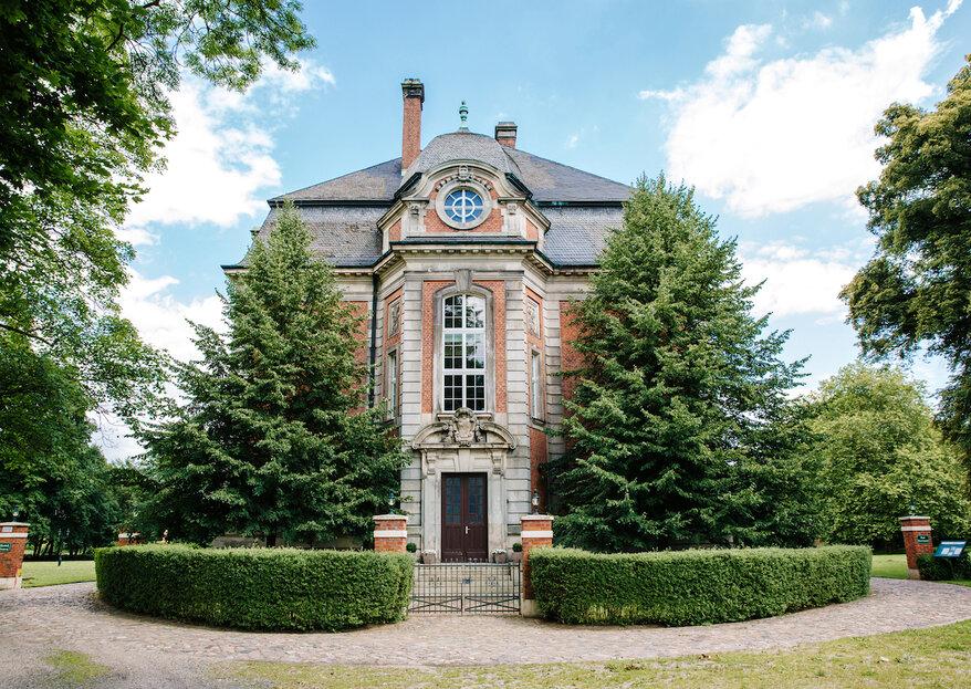 Ihr privates Hochzeitsschloss: Willkommen auf Schloss Karow!