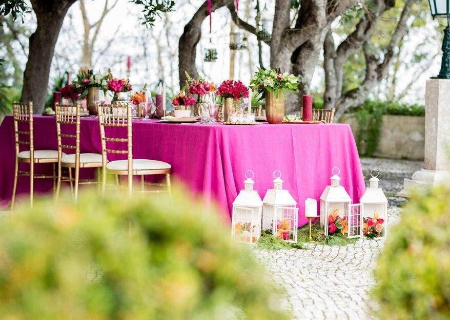 """Menta Dourada: a frescura de um serviço de """"ouro"""" para que os noivos celebrem um Grande Dia"""