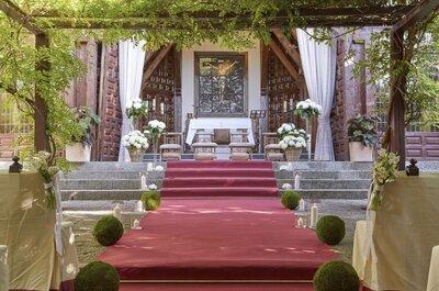 Las 7 mejores fincas de Madrid para bodas con capilla en su interior