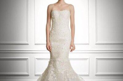 Carolina Herrera y sus diseños para novias otoño 2013