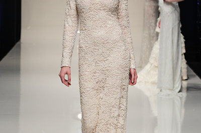 30 lace wedding dresses from White Gallery 2014