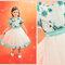 Sukienki dla dziewczynek na wesele, projekt z kolekcji marki Fulara & Żywczyk