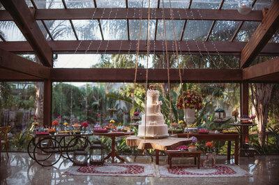 Casamento na natureza com decoração rústica: combinação perfeita!