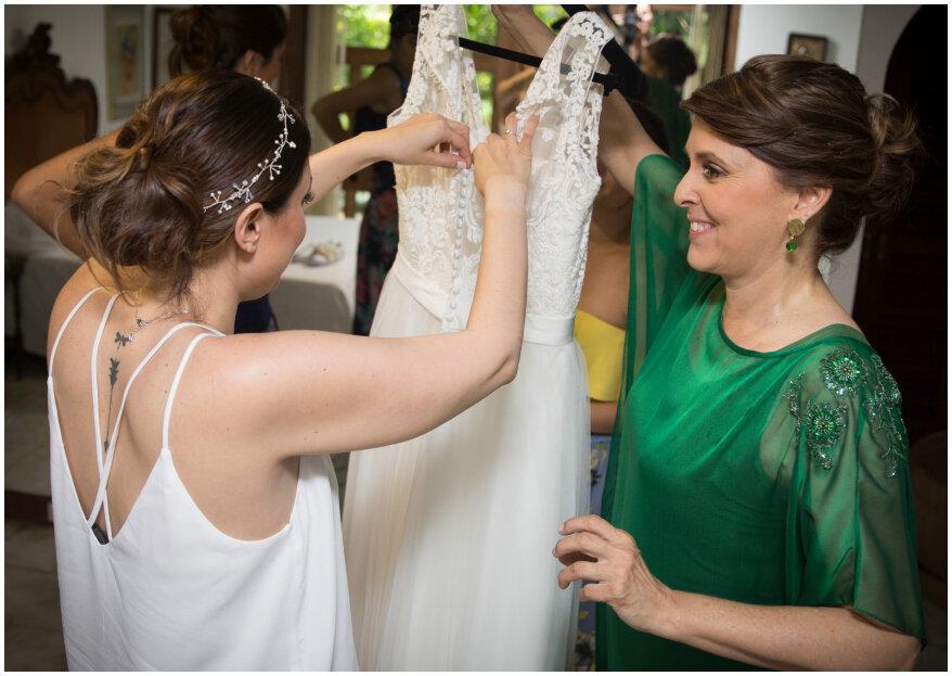 ¿Cuál es el papel de la madre de la novia en la boda?