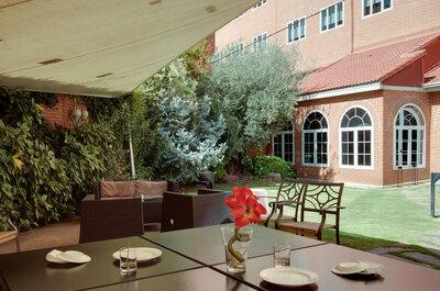 Rafaelhoteles Atocha: un lugar exclusivo para una boda de diez