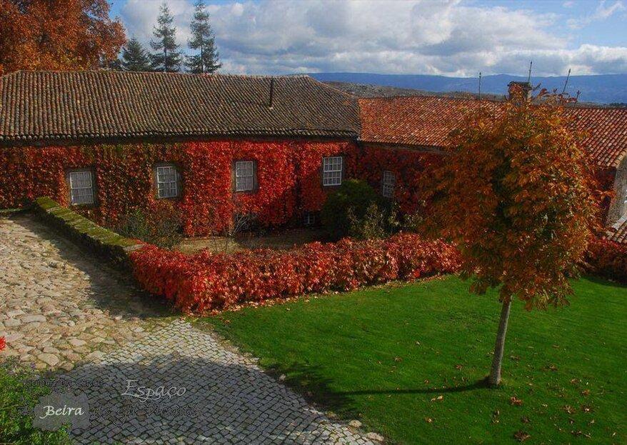 Quinta da Cerca: um casamento inesquecível próximo da cidade de Mangualde e perto de Viseu