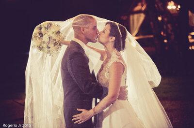 Déborah & Matheus: casamento ao ar livre rústico-chique maravilhoso!