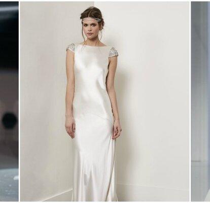 vendibile nuova collezione varietà di disegni e colori Abiti da sposa con scollo a barchetta: sofisticati ed innovativi