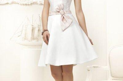 Krótkie suknie ślubne 2013 z polskich kolekcji