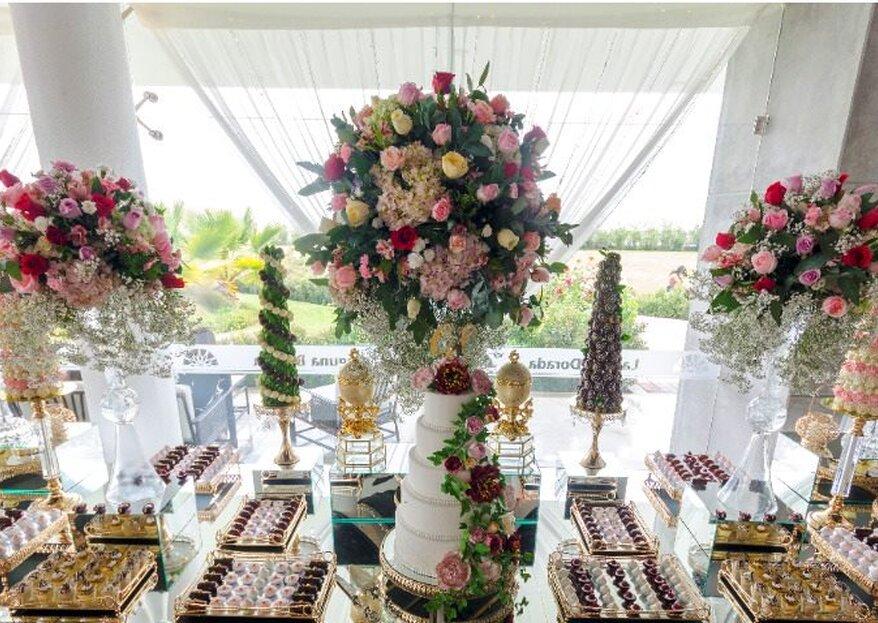 Bodas Elegants & Eventos una opción exquisita y elegante para tu matrimonio