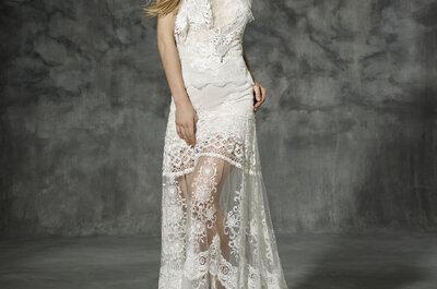 YolanCris zeigt Bräuten, wie trendige Brautmode 2016 aussieht!