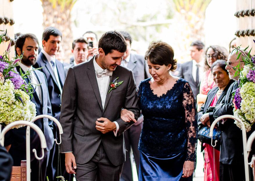 ¿Cómo elegir el vestido de la madrina? ¡Se verá espectacular!
