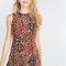Jacquard dress, Zara.