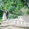 Ambiente di nozze decorato con candele