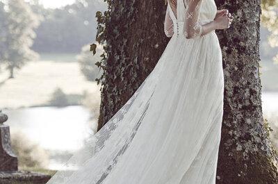 Robes de mariée Delphine Manivet 2016 : une élégance subtile