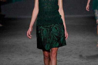 Vera Wang para convidadas prim/ver 2013: ouro sobre verde