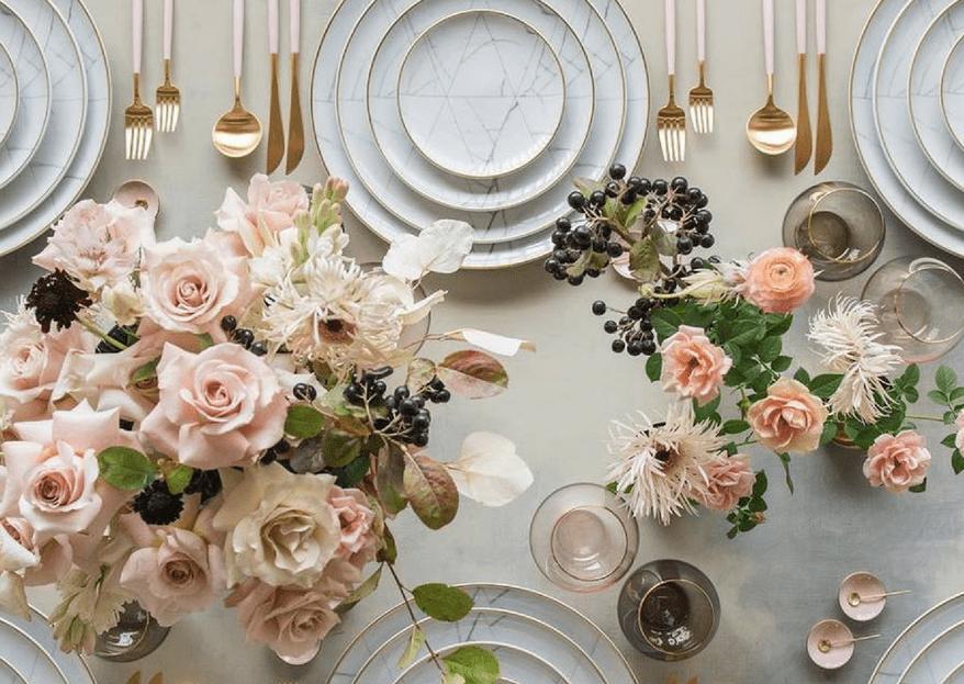 El significado de los colores en la decoración de tu boda