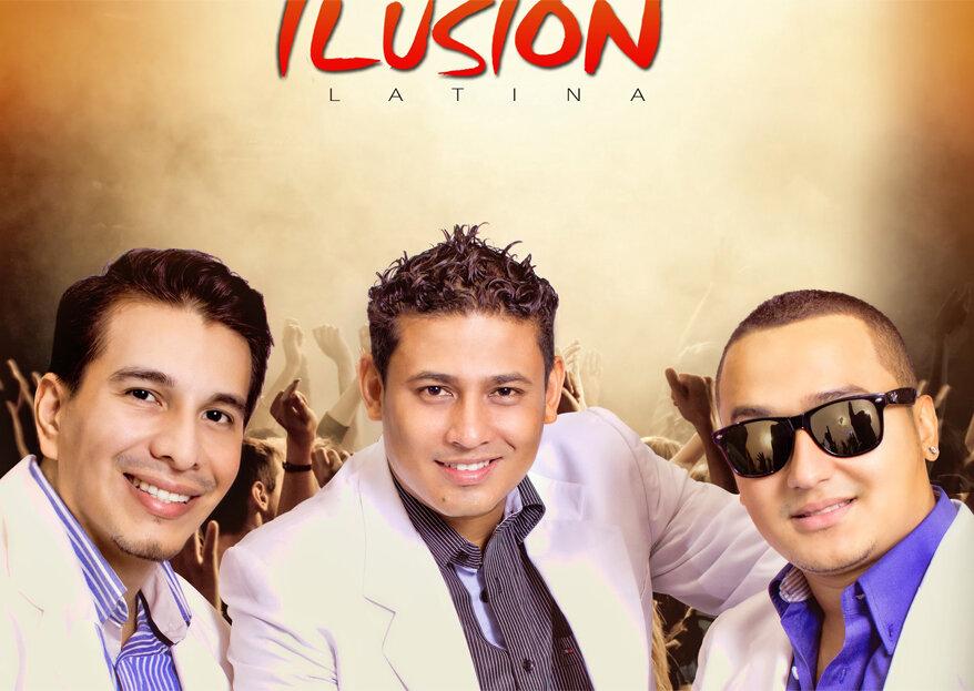 Asegura el éxito de tu boda con el show inigualable de Ilusión Orquesta Latina