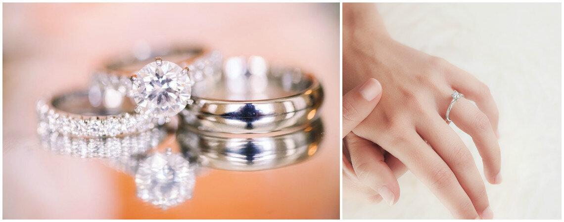 ¿Alianza + anillo de compromiso? 4 claves para crear el bridal set perfecto