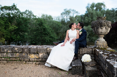 Real Wedding: See Julien + Maya Married in an 18th Century Monastery in Bourgogne