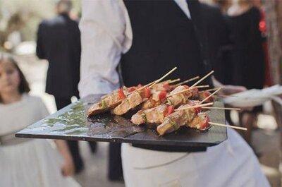 Sorprende a tus invitados con un espectacular catering para tu boda en Valencia