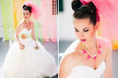 3 características de la novia con estilo vanguardista