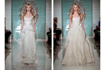 El glamour como protagónico de los vestidos de novia 2015 de Reem Acra