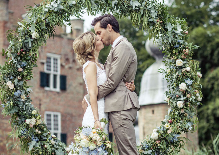 De mooiste bloemen voor jouw bruiloft met Bloemenservice Nederland