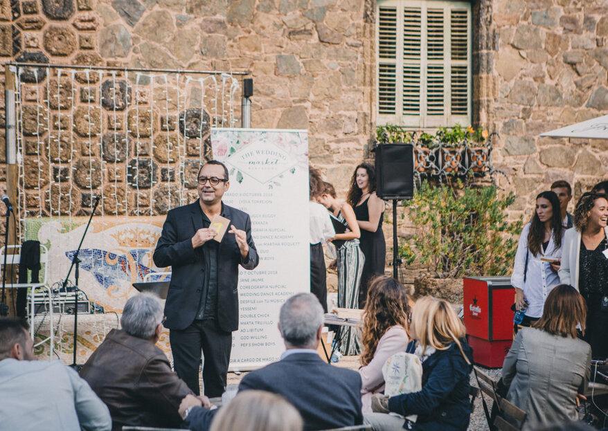 Disfruta de un espectáculo único en tu boda: magia y mentalismo cómicos de la mano del Mago Moliné